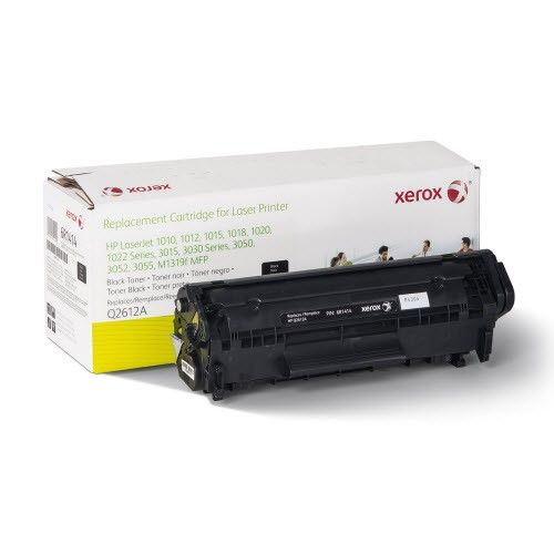 Xerox Premium Replacement Black Laser Toner Cartridge for HP 12A (Q2612A) - Made in the U.S.A