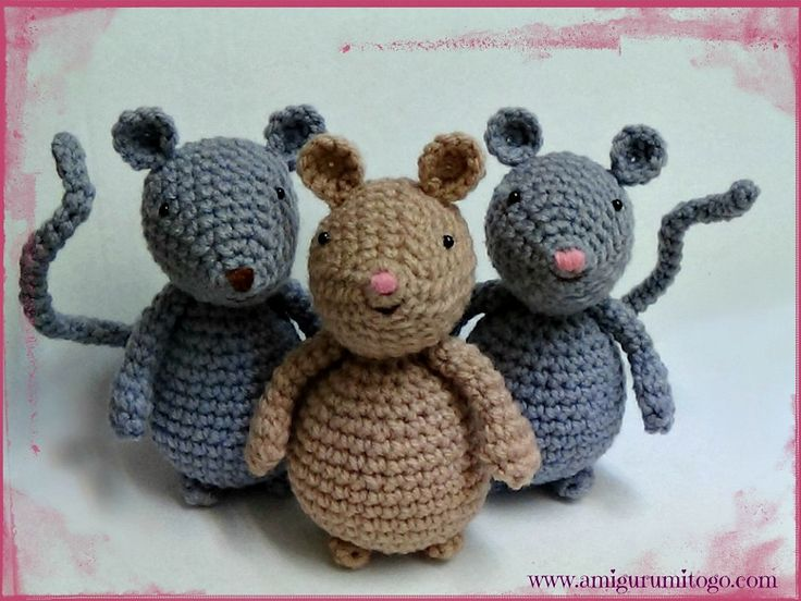 Amigurumi Mouse By Sharon Ojala - Free Crochet Pattern ...