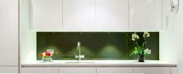 Emerald splashback