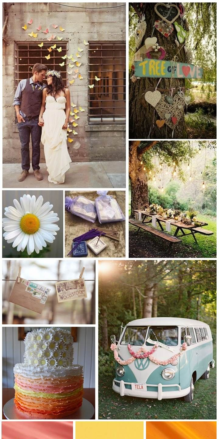 Hippie Wedding Decoration Ideas