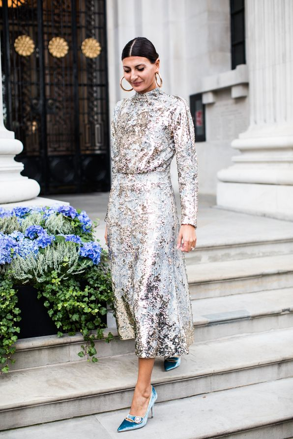 Giovanna Battaglia FWSS18 street style fashion week londres printemps ete 2018