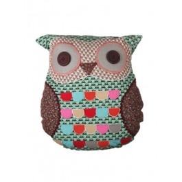 Green Owl Cushion £19.50