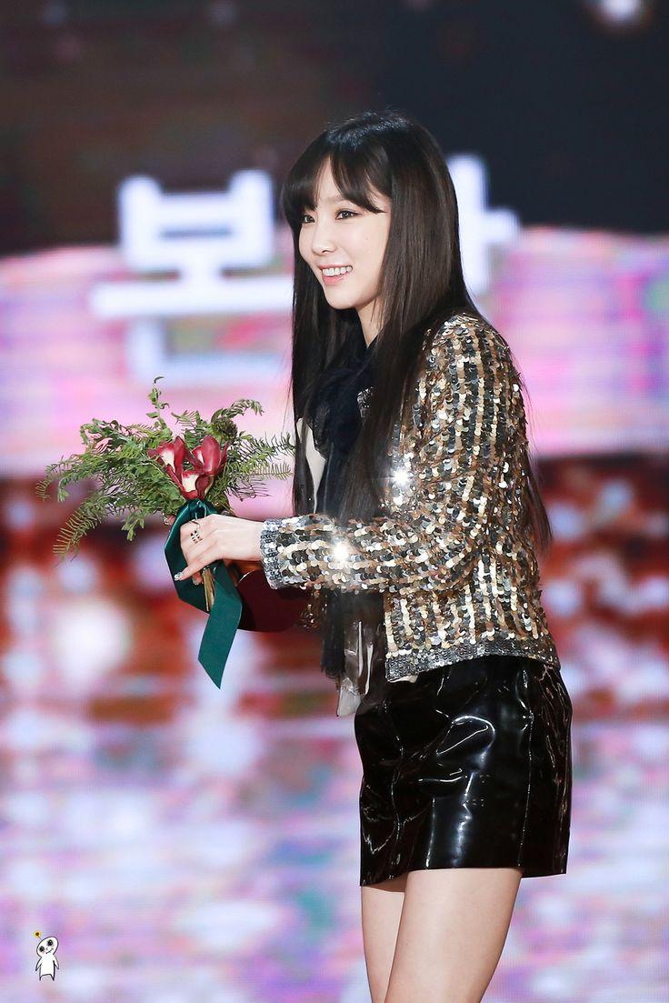 5 Photos of Taeyeon Literally Shining At The Golden Disk Awards — Koreaboo