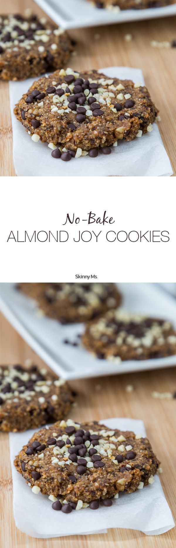 This recipe for No-Bake Almond Joy Cookies is easy breezy!