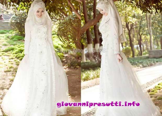 Hijab Wedding Dresses 2013