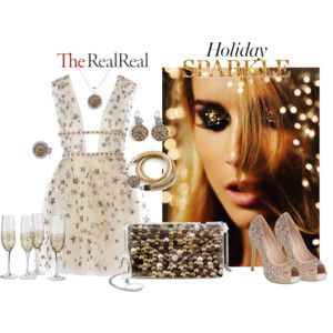 Holiday Sparkle With The RealReal: Contest Entry