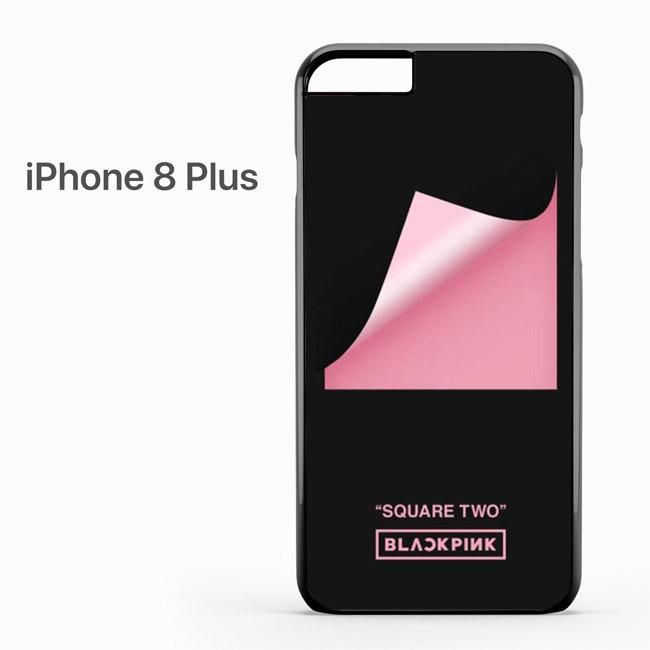 Black Pink Square Two Iphone 8 Plus Case