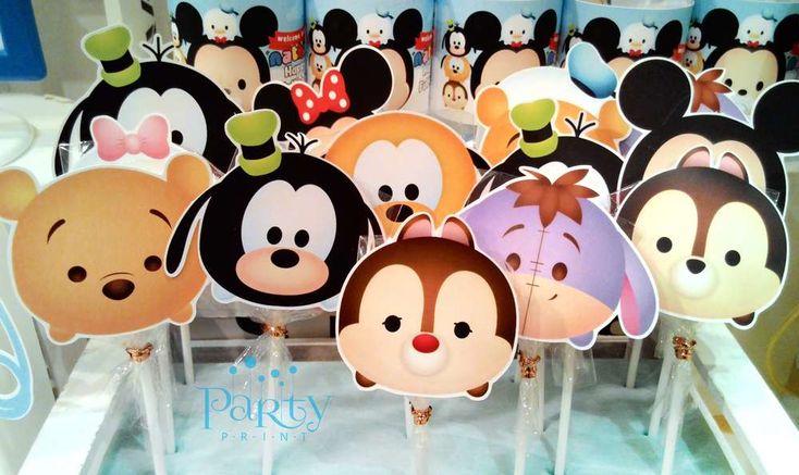 Disney Tsum Tsum Baby Shower Party Ideas   Photo 1 of 16