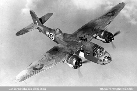 The Blackburn Botha a twin engine torpedo bomber which served with the RAF during the early stages of WW2