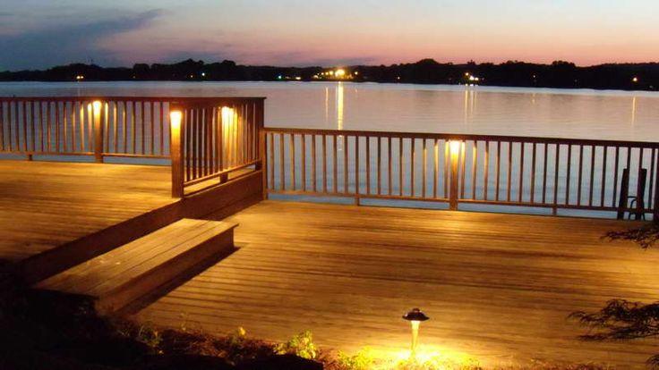 outdoor fence lighting terrasse rekkverk veranda belysning utendørs