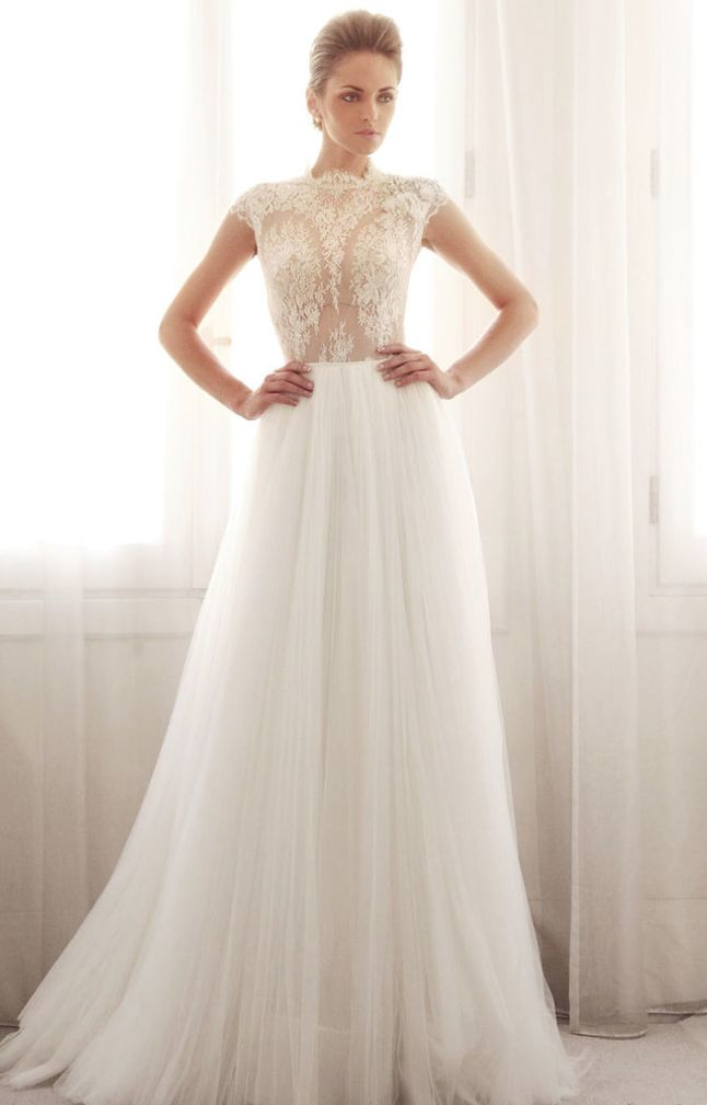 Gemy Maalouf Wedding Dresses 2014 Collection.