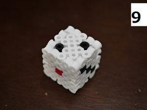 前回の組方を参考にして箱型を作りたいと思います。箱組の技術は立体アイロンビーズの...