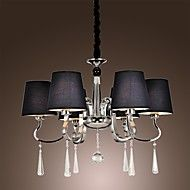 40W+Chandelier+,++Modern/Contemporary+/+Traditional/Classic+/+Rustic/Lodge+/+Vintage+/+Island+Chrome+Feature+for+Candle+Style+MetalLiving+–+GBP+£+141.60