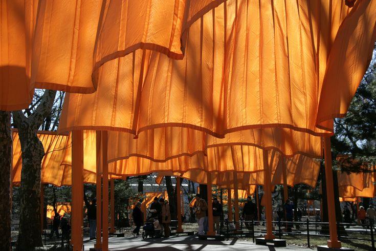 Arte e Arquitetura: Christo and Jeanne-Claude