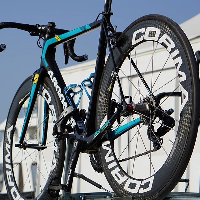 Astana Proteam extends collaboration with Corima wheels! #AstanaProteam #Corima #wheels #bike #cycling #goodnews #2017 #newseason