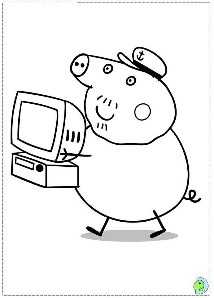 Peppa Pig Kolorowanki Rekodzielo Dla Dzieci Przedszkole
