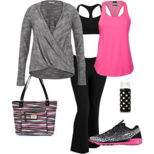 From Gym to Gymboree Plus Size Outfit