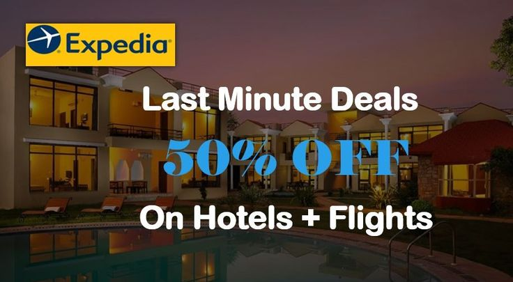 #Expedia is the best global travel booking protal. Here you can find last minute deals, daily deals and other offers and save up to 50%.  Expedia last minute deal - https://my.paylesser.com/expedia