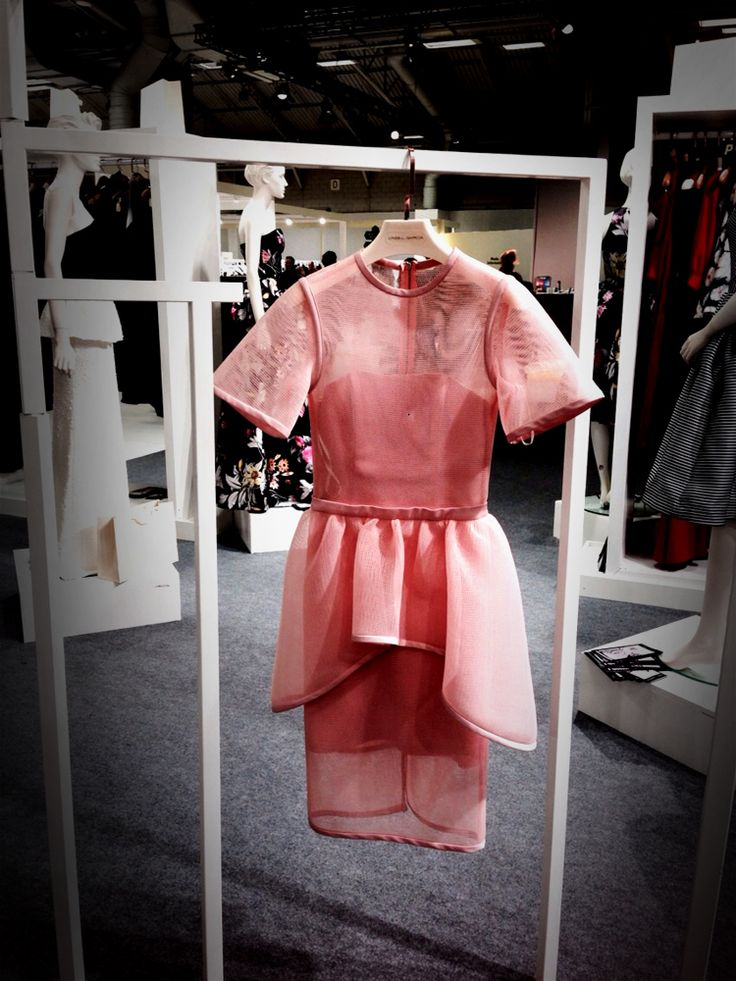 Isabel Garcia Spring/Summer 2015 outfits looked just great at the trade show WHO'S NEXT in Paris