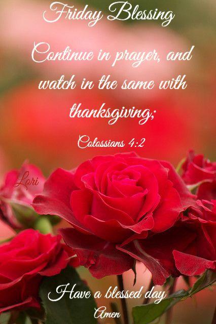 Friday Blessings Daily Blessings Friday Blessed Friday Evening