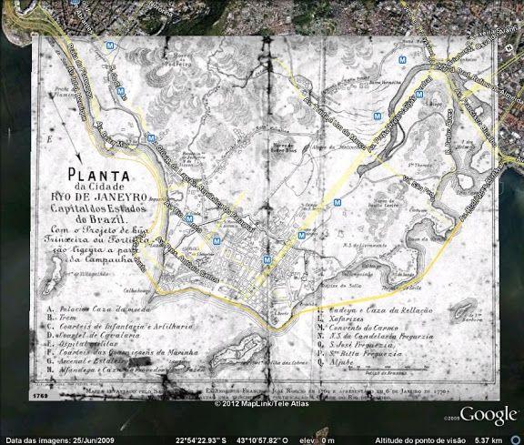 Rio de Janeiro: evolução do tecido urbano através dos mapas - SkyscraperCity