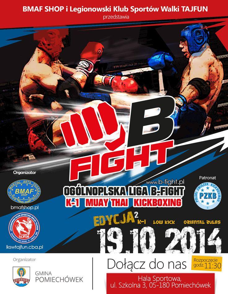 II Edycja ligi b-fight 19.10.2014 Pomiechówek komunikat