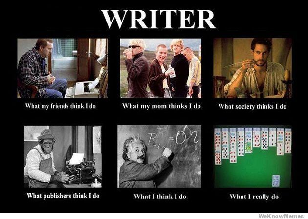 good writing memes | tried to amuse myself by looking at memes the writer meme says it all ...