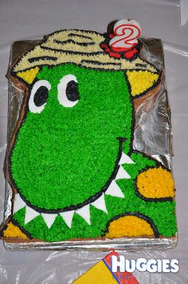 A Dorothy cake from The Wiggles
