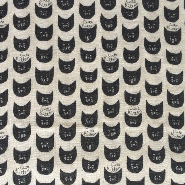Black cat double gauze