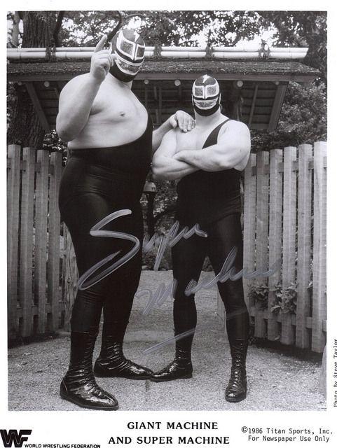 machine wrestler