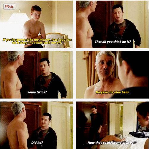 Don't Mess with Ian or you will get a Milkovich ass whooping.