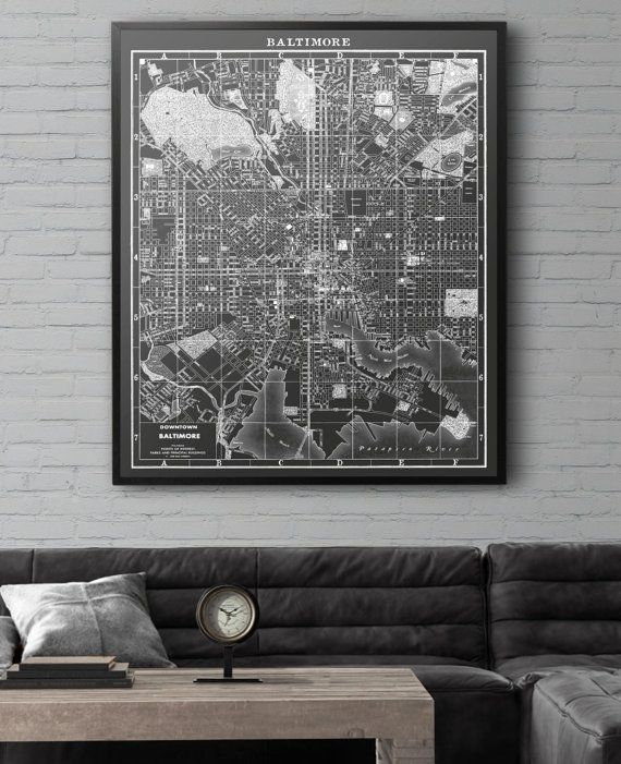 Superb Similar To Restoration Hardware Maps But Not Affiliated With Or Produced By  Them. Many Sizing Options Available U2026   Pinteresu2026