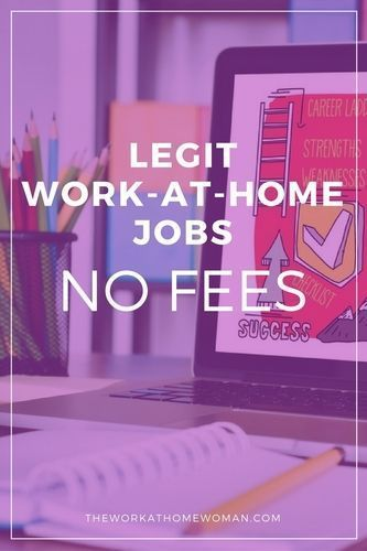 Find out the truth about work at home fees and equipment requirements. Then explore this legit list of work-at-home jobs no fees required.