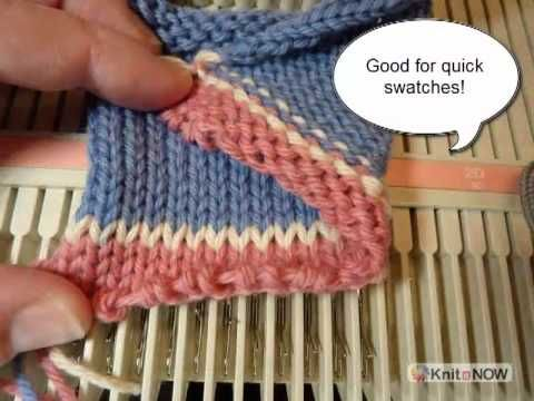 Free Machine Knitting Patterns To Download : Fast machine knitting cast on Knitting Machines Pinterest Knitting, Wat...
