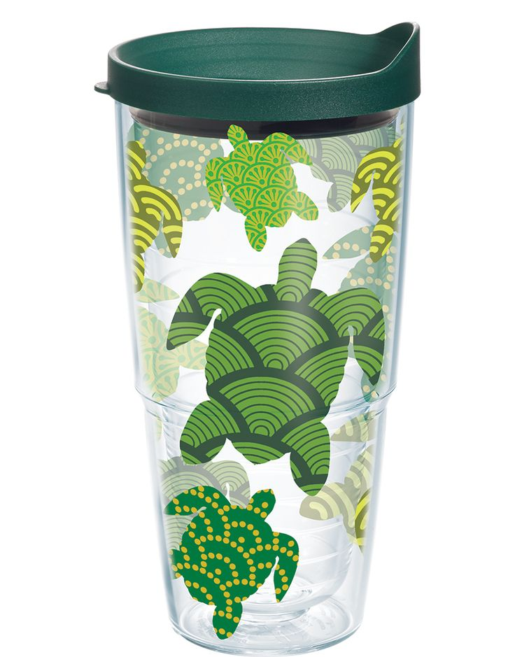 Turtle Wrap with Lid   24oz Tumbler   Tervis®