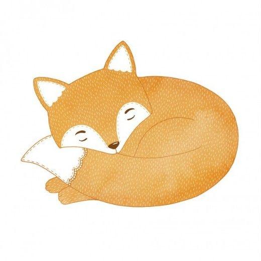 Nest Interiør | Sleeping Fox
