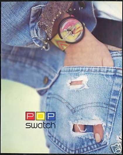 Pop swatch...un must degli anni '90!