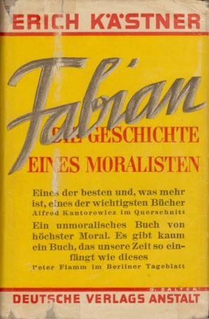 fabian - erich kästner 1931