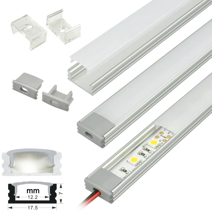 35 Best Images About Led Strip Lighting Ideas On Pinterest: 35 Best Aluminum Extrusion Profile Housing Images On