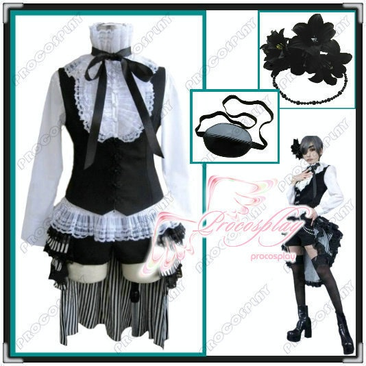 black butler ciel phantomhive cosplay costume outfit full set