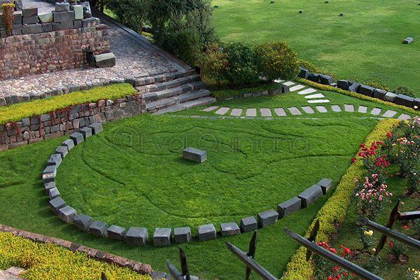 Jardines del qorikancha convento de santo domingo en for Jardin del convento