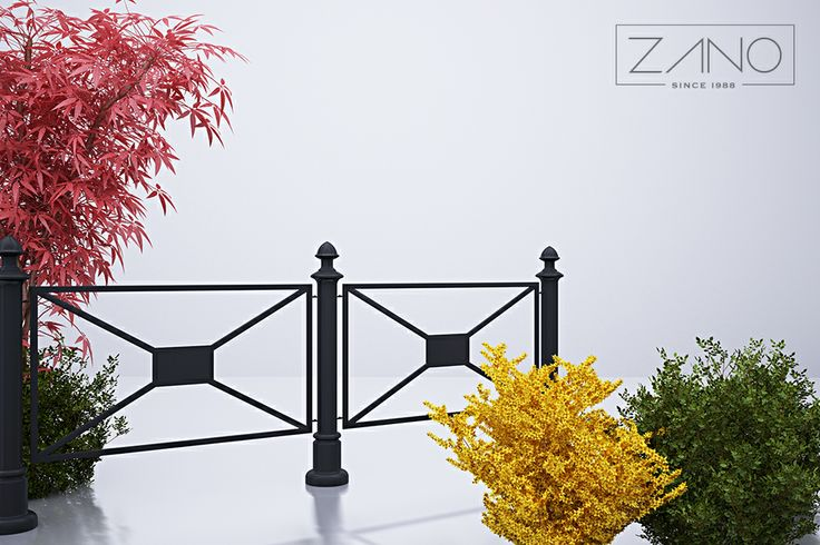 Those fences are manufactured from carbon steel which can be supplied in every of the RAL palette's standard colour. Thanks to it, those models will harmonize with surroundings...