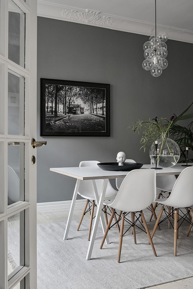 Homes to Inspire | Grey, White + Striped