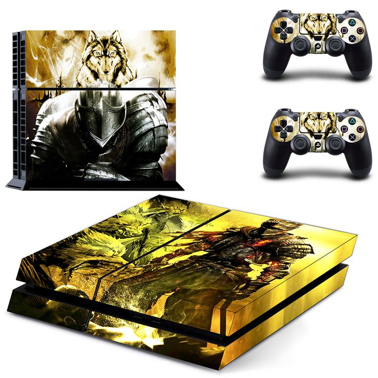Dark Souls 3 ps4 skin for console and controllers