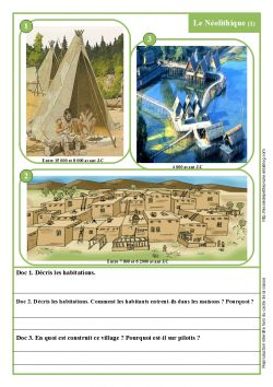 Le Néolithique ce2 - L'école de petite Prune