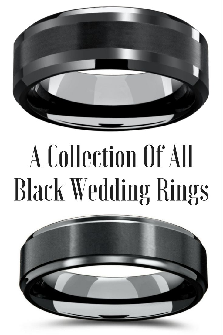 tungsten wedding rings mens firefighter wedding bands A collection of the most unique all black wedding bands The most popular mens tungsten