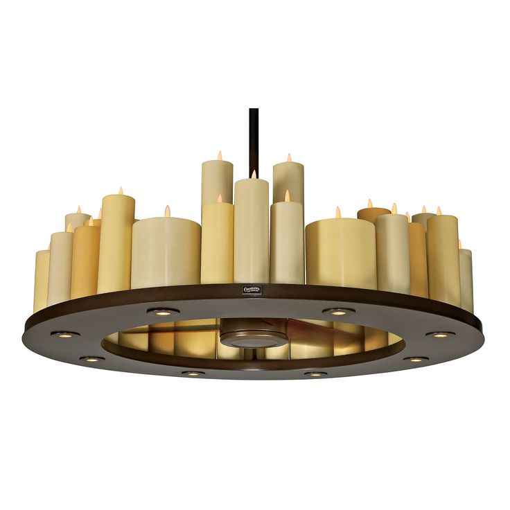 Casablanca Fans C16G73L Candelier II Transitional Candle Chandelier / Ceiling Fan CASA-C16G73L