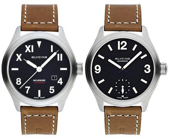 Glycine Incursore II and III Watches