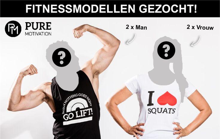 Voor ons kledingmerk Pure Motivation zijn wij op zoek naar twee vrouwelijke en twee mannelijke fitnessmodellen. Ben jij in shape en vind je het leuk om onze brand ambassador te worden?  https://www.fitness-tips.nl/blog/fitnessmodellen-manvrouw-gezocht