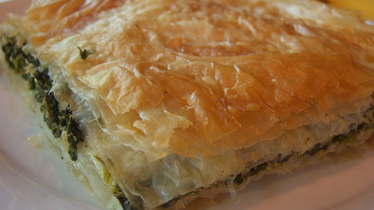 Spanakopita (Greek Spinach Pie). I like this version with the ...